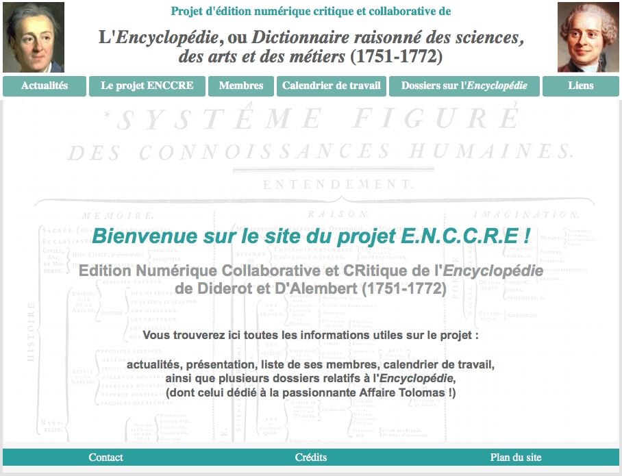 Site du ENCCRE